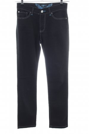 Ambiente Low Rise jeans zwart casual uitstraling