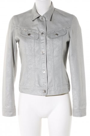 Ambiente Denim Jacket light grey casual look