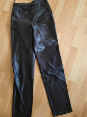 Ambiente Leather Trousers brown leather