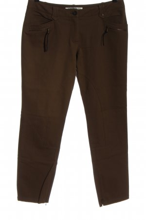 Ambiente 7/8-jeans bruin casual uitstraling