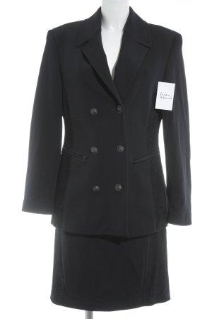 Ambiente Ladies' Suit dark blue business style