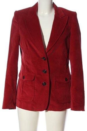 Ambiente Korte blazer rood casual uitstraling
