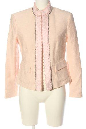 Ambiente Blazer corto crema-rosa stile professionale