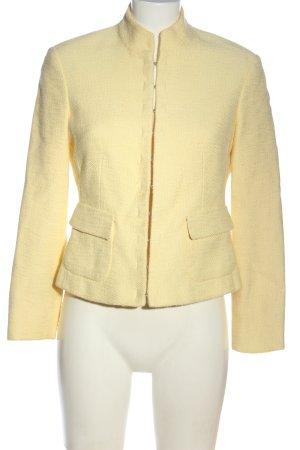 Ambiente Giacca corta giallo pallido stile casual