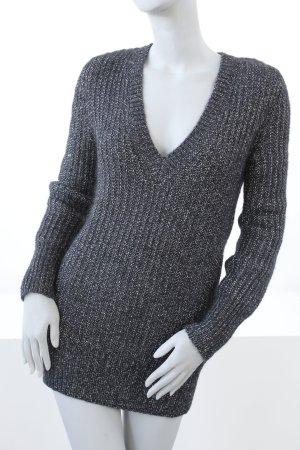 Ambiente Wollen trui zwart-zilver