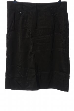 Ambiente Midi-rok zwart zakelijke stijl