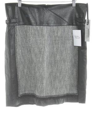 Ambiente Mini rok zwart-wit gestippeld casual uitstraling