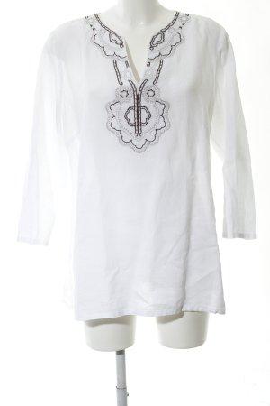 Ambiente Camicia a tunica bianco stile casual