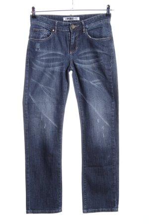 Ambiente Slim jeans blauw casual uitstraling