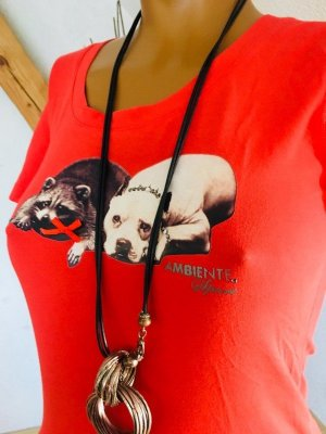 Ambiente T-shirt rood
