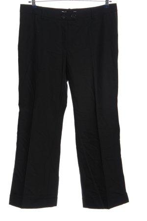 Ambiente Stoffen broek zwart casual uitstraling