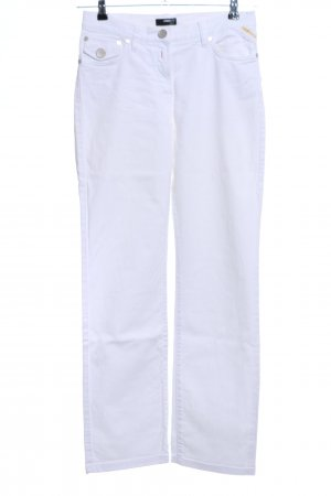 Ambiente Straight Leg Jeans white casual look