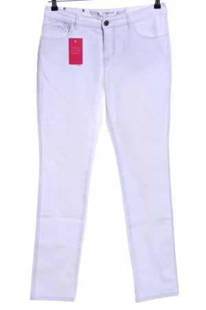 Ambiente Straight-Leg Jeans weiß Casual-Look