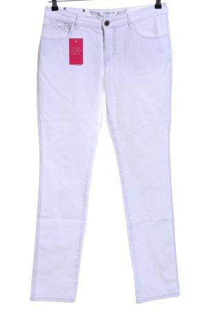 Ambiente Straight-Leg Jeans weiß Casual-Look