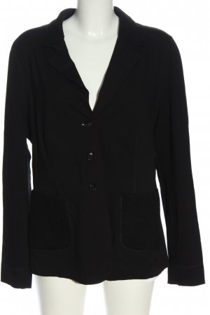 Ambiente Knitted Blazer black casual look