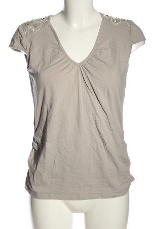 Ambiente Camiseta gris claro look casual