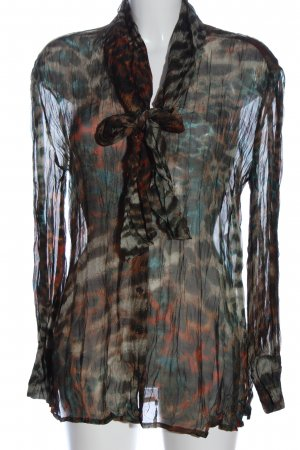 Ambiente Transparent Blouse allover print casual look