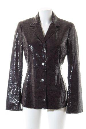 Ambiente Tweed Blazer dark brown extravagant style