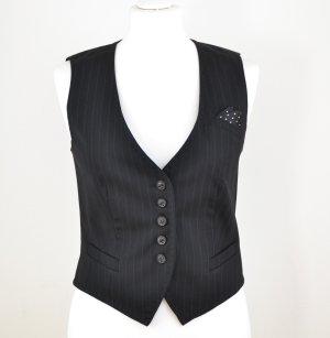 Ambiente Vest black-anthracite mixture fibre