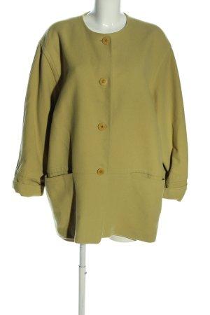 Ambiente Wollen jas groen casual uitstraling