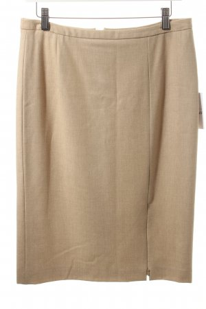 Ambiente Wool Skirt sand brown business style