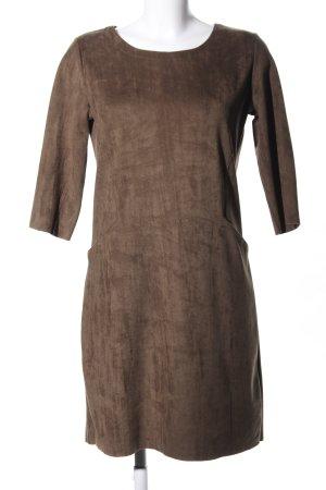 Ambika Robe à manches courtes brun style décontracté