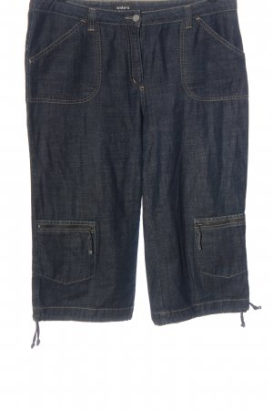 Ambria Jeans a 3/4 blu stile casual