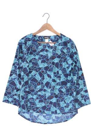 Ambria Long Sleeve Blouse blue-neon blue-dark blue-azure polyester