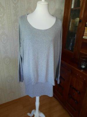 Ambria Selection Long Shirt light grey viscose