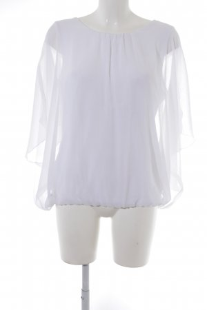 Ambria Selection Crash Blouse white elegant