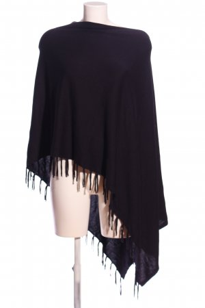 Ambria Selection Poncho schwarz Business-Look