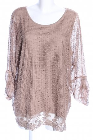 Ambria Selection Slip-over blouse nude elegant