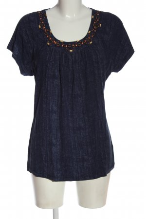 Ambria Selection Boatneck Shirt blue casual look