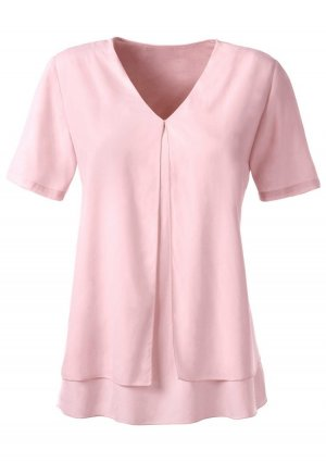 Ambria Selection Slip-over Blouse apricot polyester