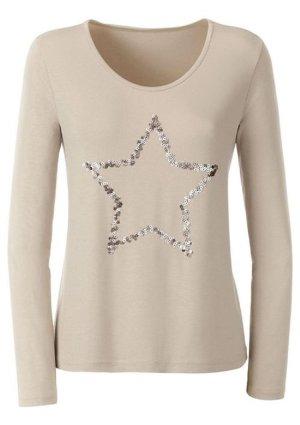 Ambria Selection T-Shirt sand brown viscose