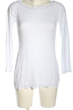 Amelie & Amelie Longesleeve wit klassieke stijl