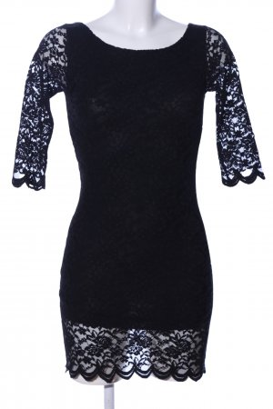 Amelie & Amelie Mini Dress black party style