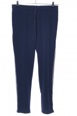 Amelie & Amelie Jersey Pants blue casual look