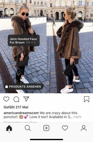 Ameriandreamscom Fake fur Cardigan neu mit Etikett