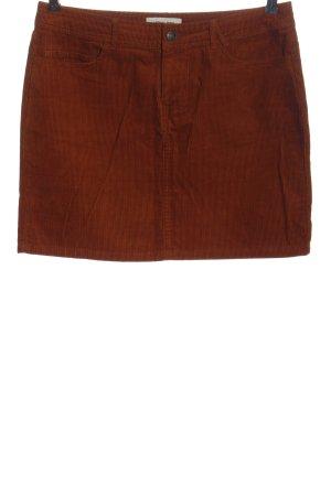 America Today Mini-jupe brun style décontracté