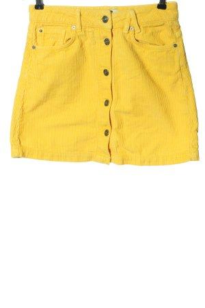 America Today Mini-jupe jaune primevère style décontracté