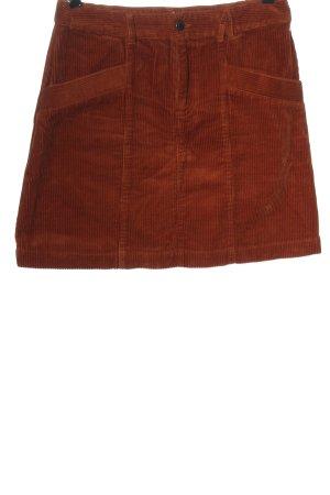 America Today Minifalda marrón look casual