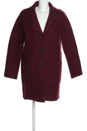 America Today Abrigo de lana rojo look casual