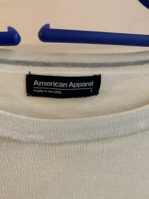 American Apparel Lange jumper veelkleurig Katoen