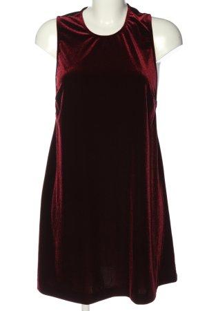 American Apparel Robe trapèze rouge style décontracté