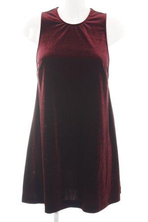 American Apparel Abendkleid rot Allover-Druck Elegant