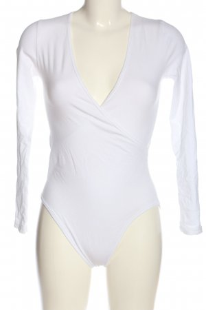 American Apparel Basic Bodysuit white casual look
