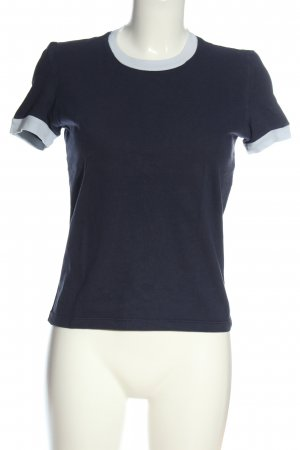 American Apparel  blauw-wit casual uitstraling