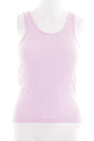 American Apparel Basic Top pink Casual-Look