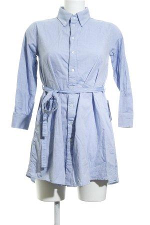American Apparel Blusenkleid himmelblau Casual-Look